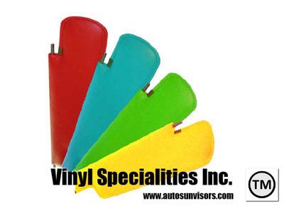 Vinyl Specialties --- Interior Auto Sunvisors dcab041d718